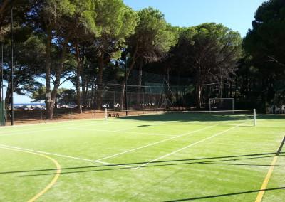 Campo da Tennis Pino Solitario di Fetovaia all'Isola d'Elba