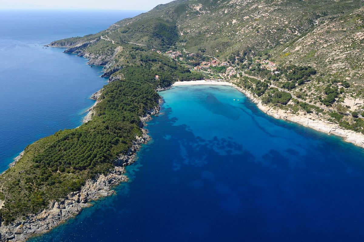 Elba Island - Bay and beach of Fetovaia