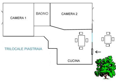 Trilocale La Piastraia