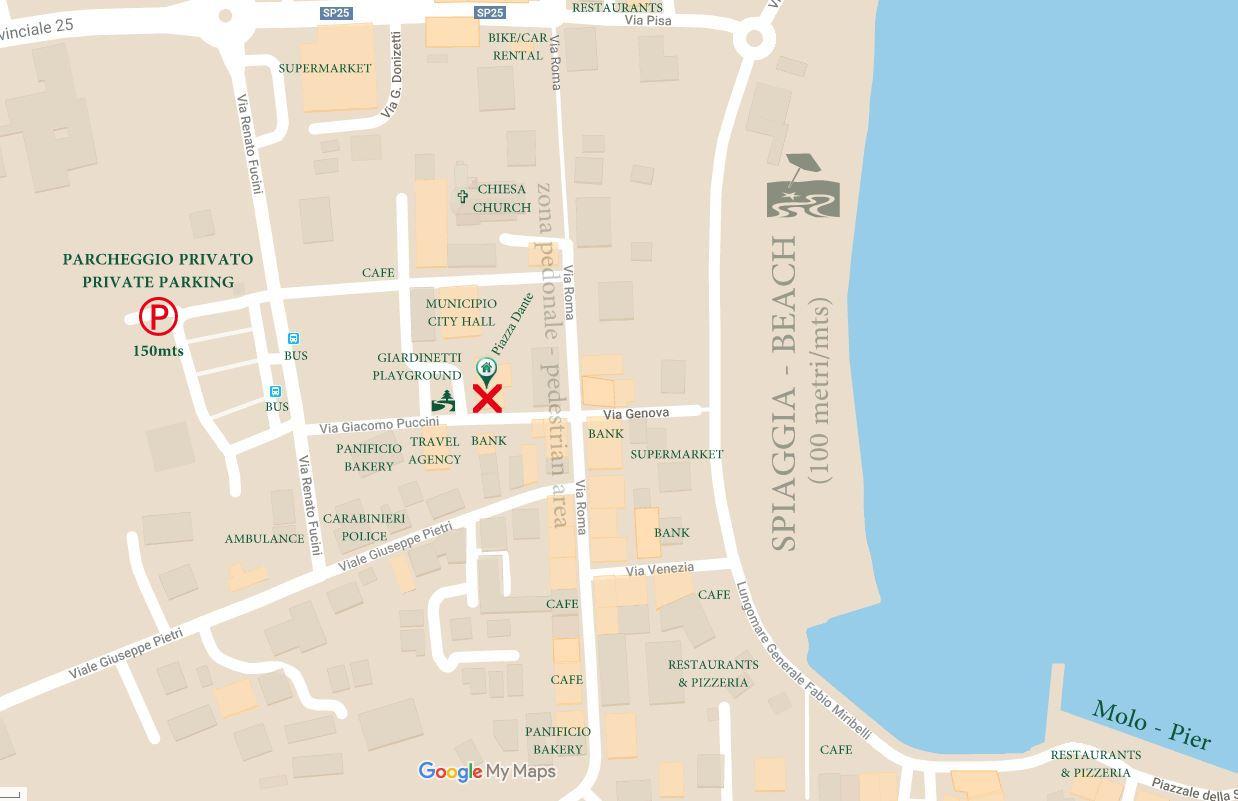 mappa piazza dante appartamenti 7
